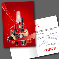 Shine Labs Christmas Card