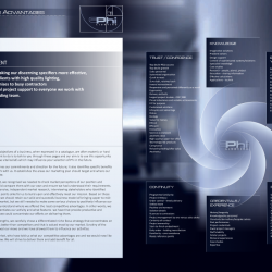 Phi Lighting Strategy Catalog Page