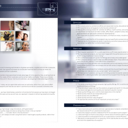 Phi Lighting Testimonials Catalog Page