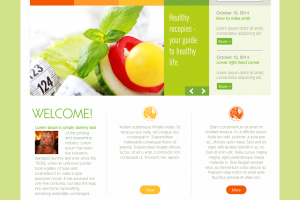 Holistic Life Club - website look
