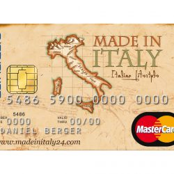 """Made In Italy"" mastercard"