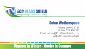EcoGlassShield business card