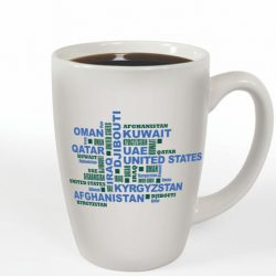 Mug designed for Green Beans Coffee Company